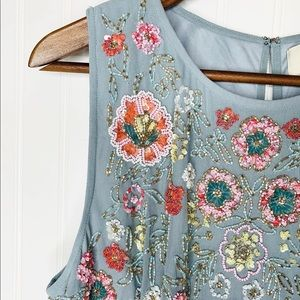 Anthropologie BHLDN floral dress